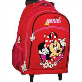 Batoh školní Sun Ce na kolečkách - Disney Minnie červený f81295ae12