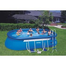 Esk n vod k pou it baz n intex frame set ov l 6 1 x3 for Piscine intex 3 66x1 22