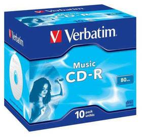 Disk Verbatim CD-R 700MB/80 min. AUDIO LIVE IT!, 10ks (43365)