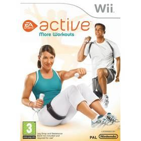 Hra EA Wii Active More Workouts (NIWS1621)
