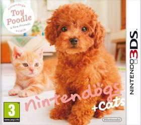 Hra Nintendo 3DS Nintendogs+Cats - Toy Poodle&new Friends (NI3S506)