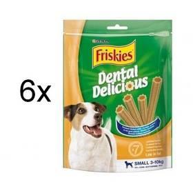Pochoutky Purina Friskies dental delicious 6 x 110g S