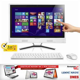 Počítač All In One Lenovo IdeaCentre C560 (57322366) bílý